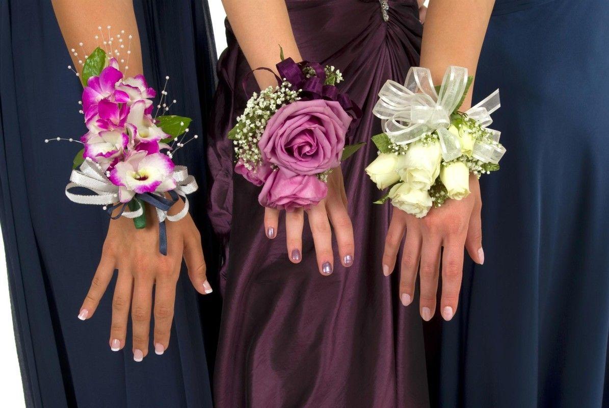 Букетики подружкам своими руками